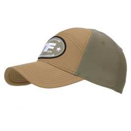 TF-2215 Baseball cap flex two-tone - kleur coyote met ranger groen
