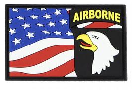 Embleem 3D PVC 101st Airborne vlag