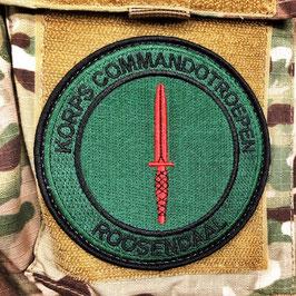 Korps Commandotroepen Roosendaal badge geborduurd (nieuw)