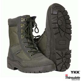 Fostex sniper boots met YKK zijrits - Groen