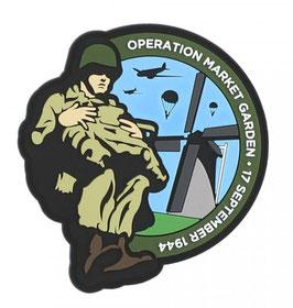 Embleem 3D PVC Paratrooper Operation Market Garden