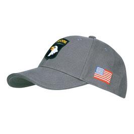 Cap 101st Airborne grijs