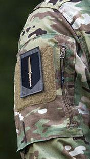Korps Commandotroepen GVT mouwembleem