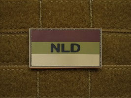 NLD rubber patch Multicam met velcro achterzijde