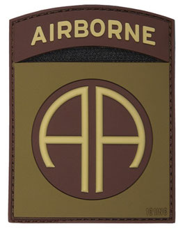 82nd Airborne patch 3D - bruin