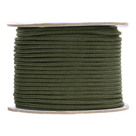 Touw 3 mm op 60 meter volle rol groen