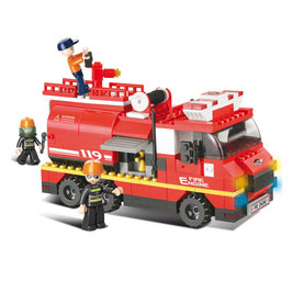 Sluban brandweer Bluswagen M38-B0220