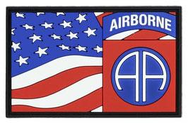 Embleem 3D PVC 82nd Airborne vlag