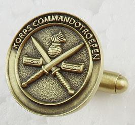 Korps Commandotroepen manchetknopen (per set)