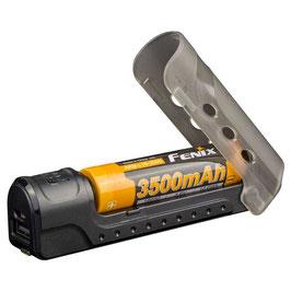 Fenix ARE-X11 batterijlader +3500mAh 18650 oplaadbare batterij