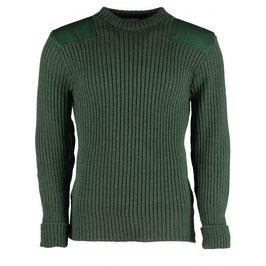 Commando trui - mos groen
