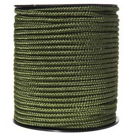 Touw 5 mm op 60 meter volle rol groen