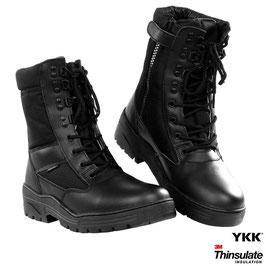 Fostex sniper boots met YKK zijrits - Zwart