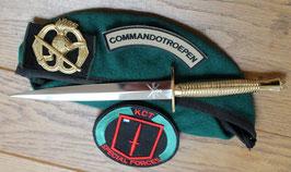 Fairbairn-Sykes commando dolk met verguld handvat inclusief gegraveerd KCT logo