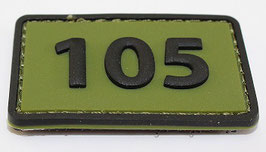 105 Commandotroepencompagnie patch (olive)