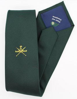 Standaard KCT stropdas met geweven KCT logo