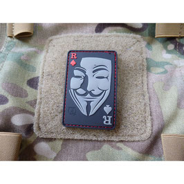 Guy Fawkes pvc patch