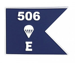 Embleem 3D PVC E Company patch