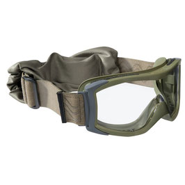 Bollé X1000 tactical bril clear platinum - Groen