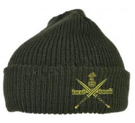 Commando muts (in groen of zwart)