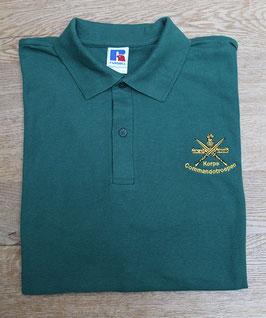 KCT polo groen met geborduurd KCT logo