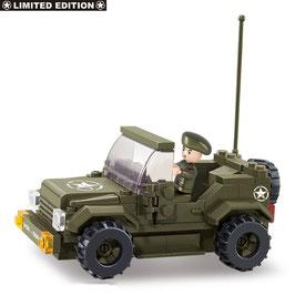 Sluban Jeep Allied Star M38-70207