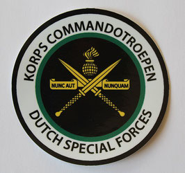 Korps Commandotroepen sticker Dutch Special Forces