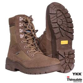 Fostex sniper boots met YKK zijrits - Coyote