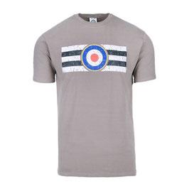 T-shirt Royal Air Force grijs