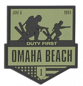 Embleem 3D PVC Omaha Beach