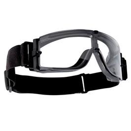 Bollé X800 Tactical bril clear platinum