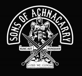 Sticker Sons of Achnacarry black