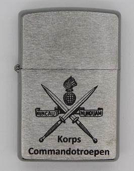 Zippo aansteker met KCT logo