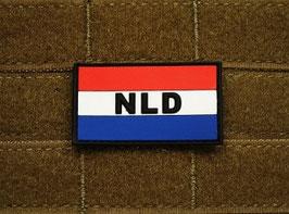 NLD PVC patch met velcro achterzijde