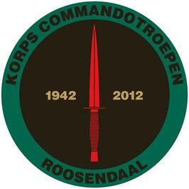 Korps Commandotroepen sticker KCT 1942-2012 (reünie)
