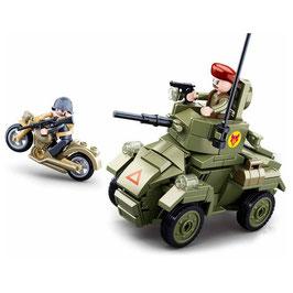 Sluban kleine Engelse pantserwagen (De Ferret) M38-B0710 - nieuw