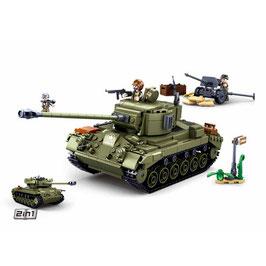 Sluban WWII geallieerde Tank M38-B0860