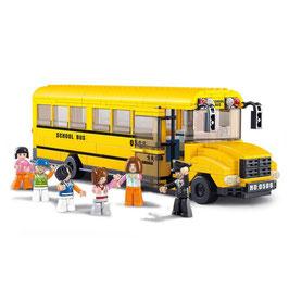 Sluban Town grote Schoolbus M38-B0506