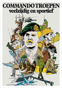 Korps Commandotroepen ansichtkaarten set