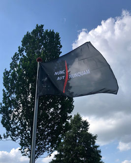 Korps Commandotroepen vlag Nunc Aut Nunquam (Nieuwe uitvoering)