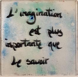 """""""L'imagination est plus importante que le savoir """""""