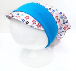 sommerliche Kopfbedeckung Blumenpracht