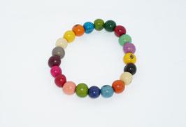"""Armband """"Azaipu"""" bunt/ Bracelet """"Azaipu"""" coloured"""