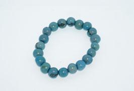 """Armband """"Azaipu"""" jeansblau/ Bracelet """"Azaipu"""" jeans blue"""