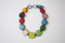 "Tagua-Kette ""Cayla"" bunt / Tagua Necklace ""Cayla"" colours"