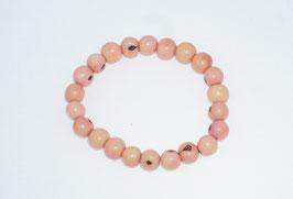 """Armband """"Azaipu"""" rosa/ Bracelet """"Azaipu"""" rose"""