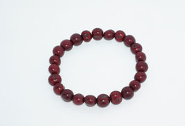 "Armband ""Azaipu"" wein-rot/ Bracelet ""Azaipu"" wine-red"