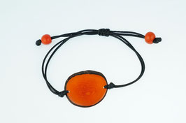 "Armband ""Laurapu"" orange/ Bracelet ""Laurapu"" orange"