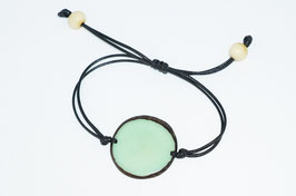 "Armband ""Laurapu"" mint/ Bracelet ""Laurapu"" mint"