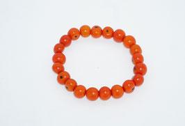"""Armband """"Azaipu"""" orange/ Bracelet """"Azaipu"""" orange"""
